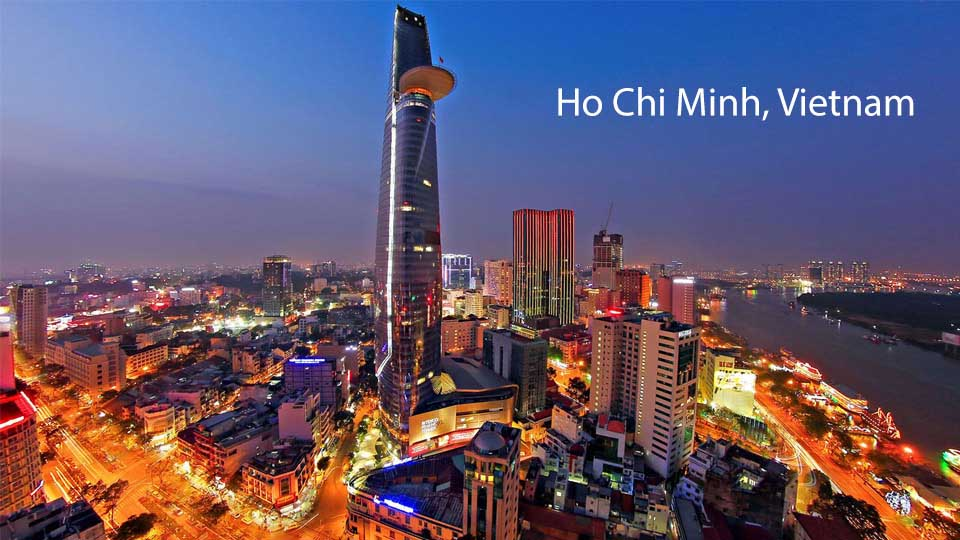 Welcome to Ho Chi Minh city, Vietnam